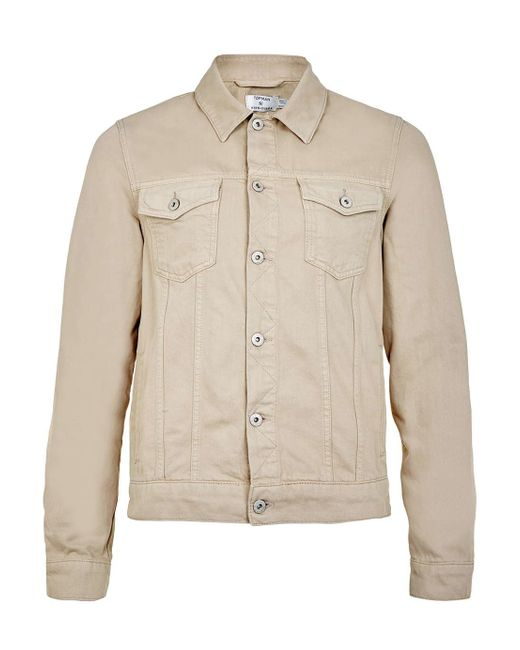 Find beige denim jacket mens at ShopStyle. Shop the latest collection of beige denim jacket mens from the most popular stores - all in one place.