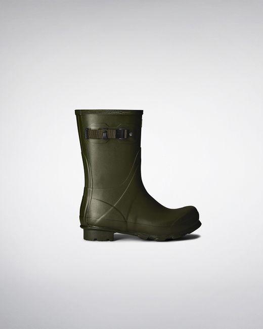 Hunter | Green Men's Original Short Rain Boots for Men | Lyst