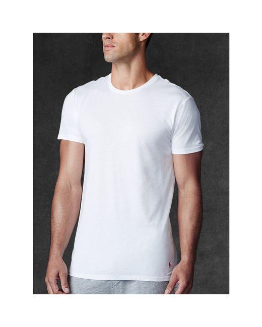 Polo Ralph Lauren | White Supreme Comfort Crew 2 Pack for Men | Lyst