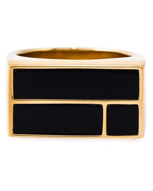 Aurelie Bidermann | Metallic 18kt Gold Plated 'bianca' Ring | Lyst
