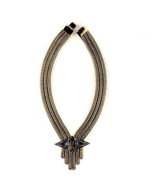Nicole Romano | Metallic Fai Necklace | Lyst