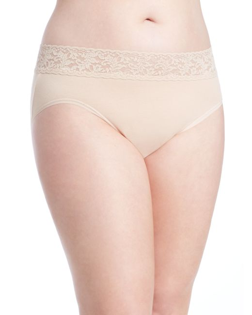 Hanky Panky | Beige Plus Size Cotton French Brief | Lyst