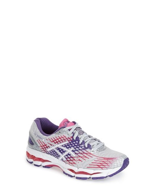 Asics | Purple Asics 'gel-nimbus 17' Running Shoe | Lyst