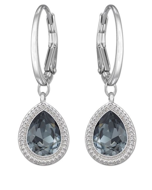 Swarovski | Metallic Aneesa Crystal Drop Earrings | Lyst