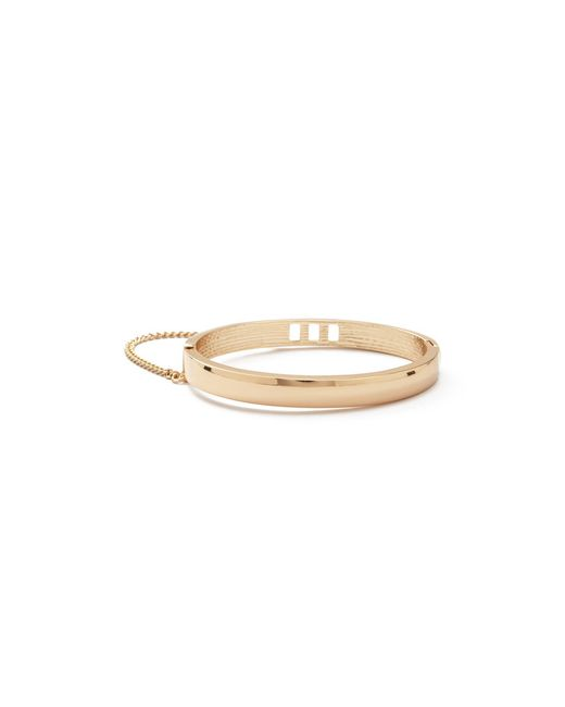 Forever 21 | Metallic Chained Cutout Hinge Bracelet | Lyst