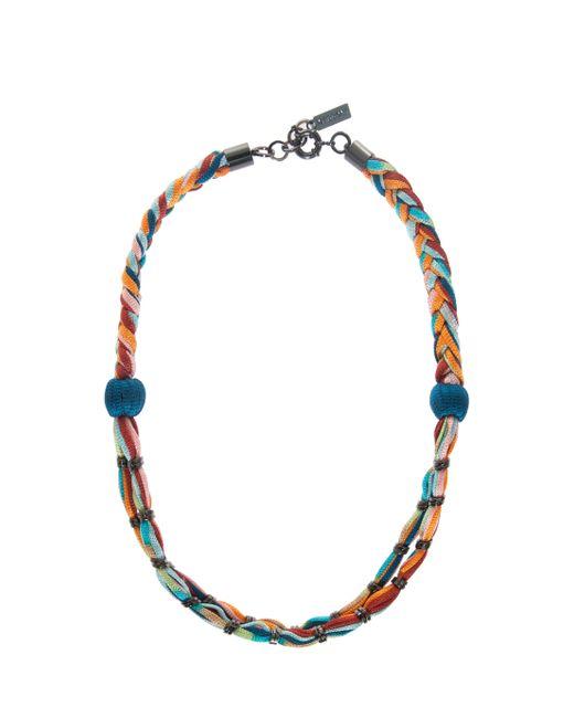 Missoni | Blue Rope Necklce | Lyst