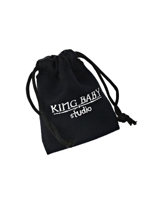 King Baby Studio   6mm Red Coral Bead Bracelet W/ 4 Skulls   Lyst