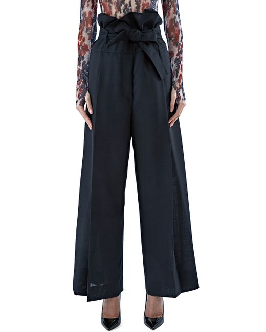 Shop black wide leg pants at Neiman Marcus, where you will find free shipping on the latest in fashion from top designers.
