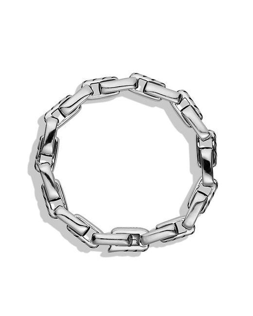 David Yurman   Metallic Cable Link Bracelet for Men   Lyst