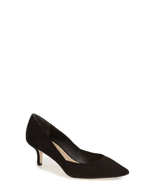 Via Spiga | Black 'Medora' Pointy Toe Pump | Lyst