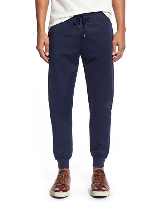 W.r.k. | Blue 'ward' Knit Pants for Men | Lyst