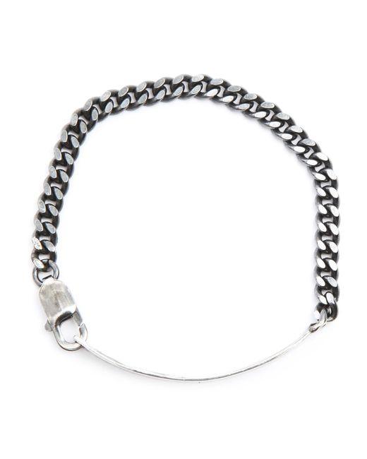 Gilbert Gilbert | Metallic Basic Silver Bracelet for Men | Lyst