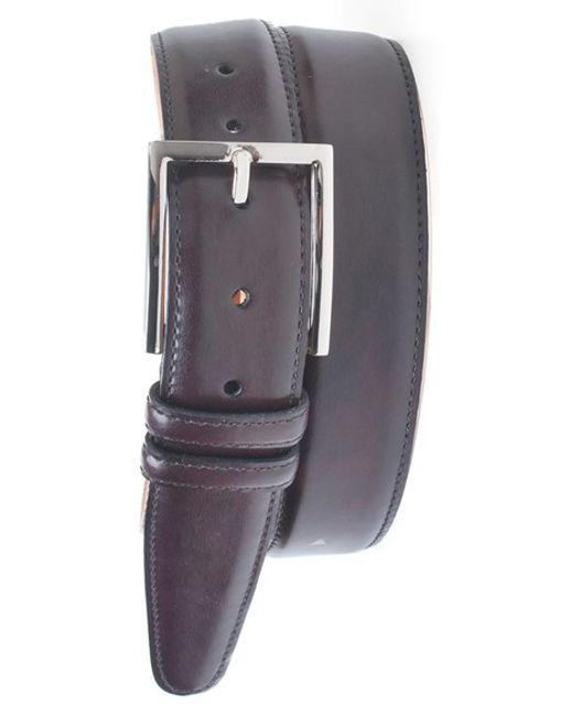 Martin Dingman | Purple 'samuel' Leather Belt for Men | Lyst
