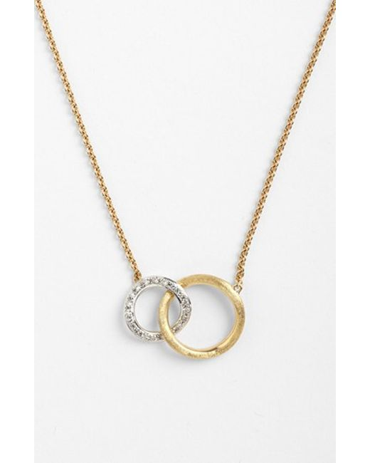 Marco Bicego | Metallic 'jaipur' Link Pendant Necklace | Lyst