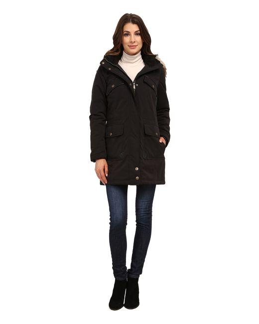 DKNY   Black Anorak W/ Chest Pockets Details 82377-y5   Lyst