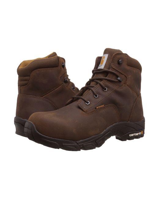 "Carhartt | Brown 6"" Waterproof Work Hiker for Men | Lyst"