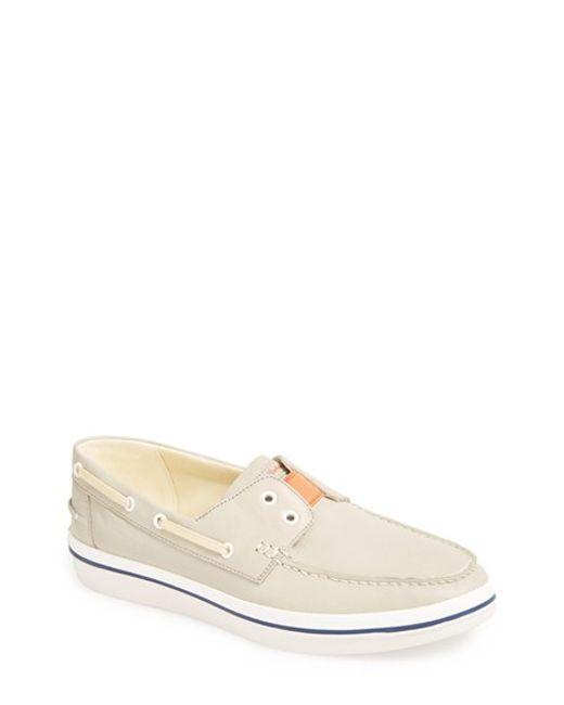 Tommy Bahama | Natural 'relaxology Collection' Boat Shoe for Men | Lyst