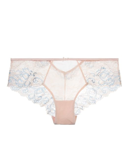 Blush Lingerie True Bliss Hipster In Pink (Peach Rose)
