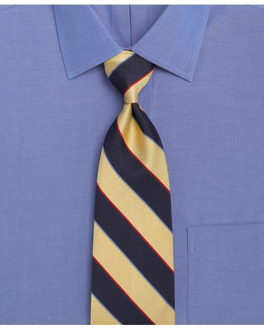 Brooks Brothers | Blue Argyle And Sutherland Repp Tie for Men | Lyst