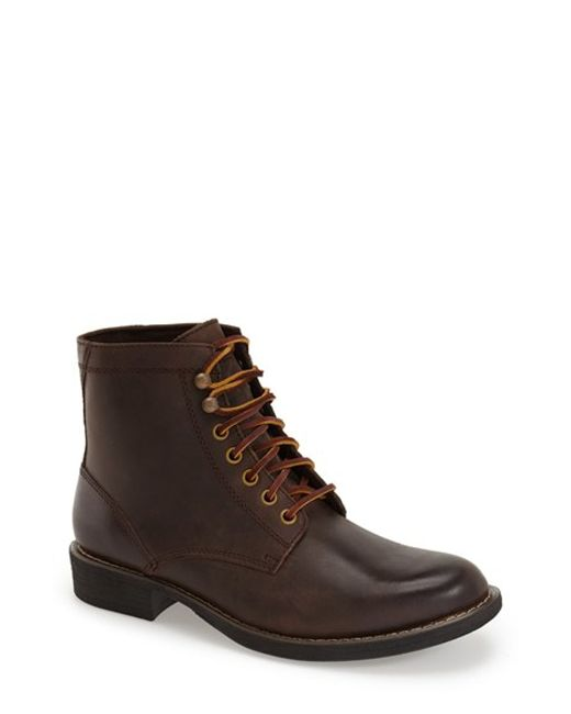 Eastland | Brown 'oakwood 1955' Plain Toe Boot for Men | Lyst