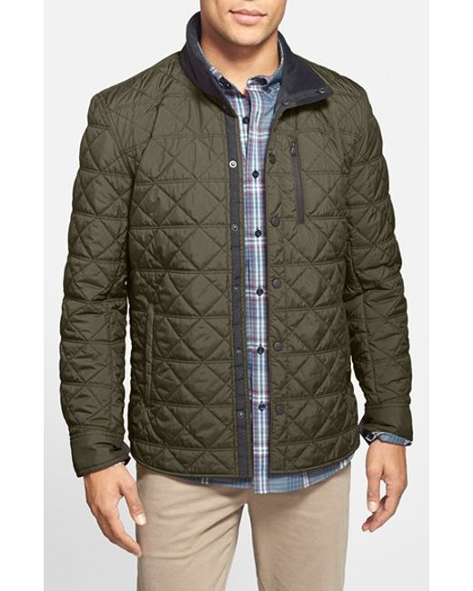 Victorinox | Green 'Bernhold' Quilted Thermore Insulated Jacket for Men | Lyst