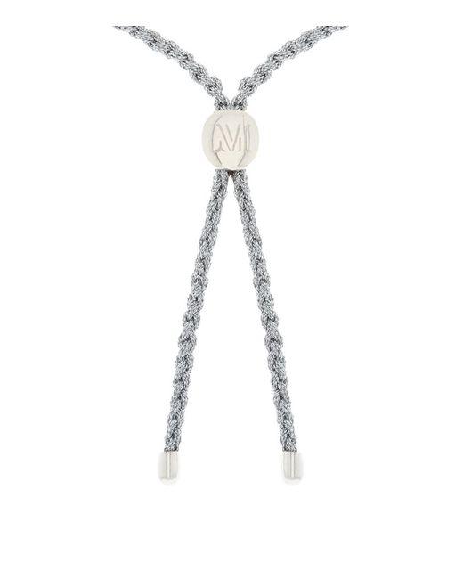 Monica Vinader | Metallic Fiji Friendship Bracelet Sterling Silver | Lyst