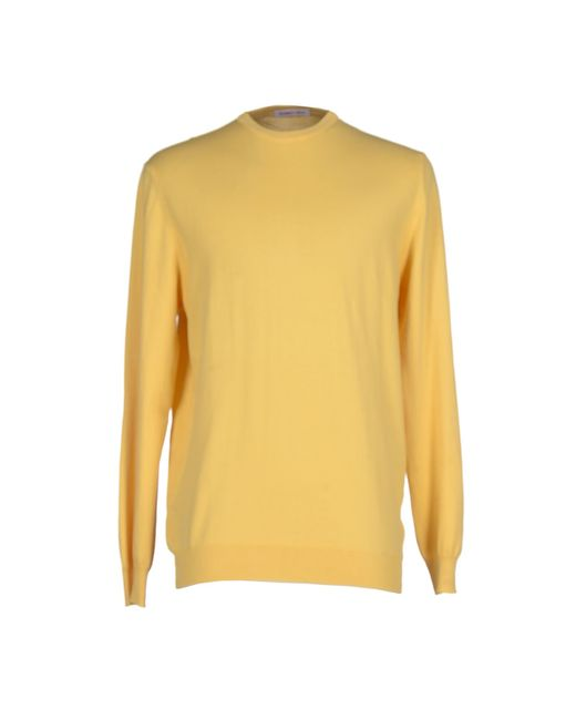 Romeo Gigli | Yellow Sweater for Men | Lyst