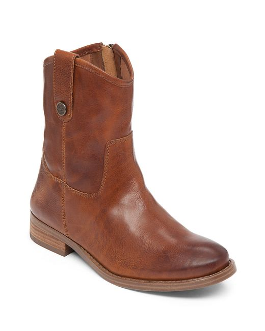 Vince Camuto | Brown Payatt Leather Boots | Lyst