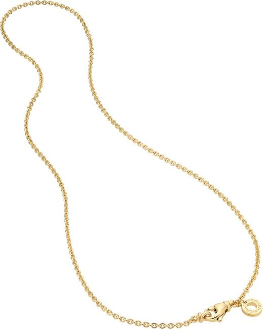 BVLGARI | Catene 18kt Yellow-gold Charm Necklace | Lyst