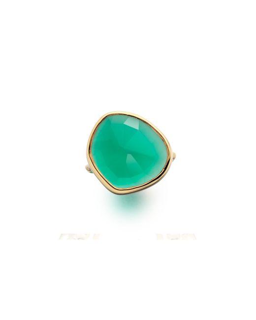 Monica Vinader | Green Siren Ring | Lyst