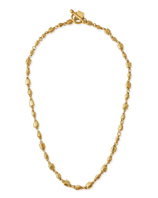 Ashley Pittman | Metallic Nafsi Bronze Beaded Necklace | Lyst