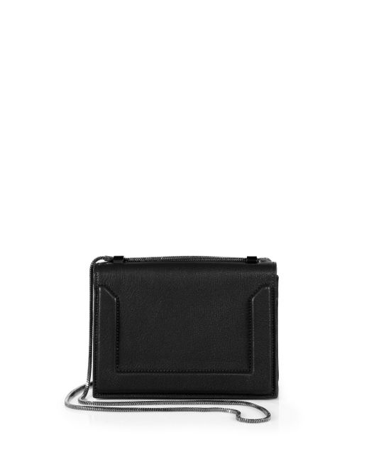 3.1 Phillip Lim   Black Soleil Mini Leather Chain Crossbody Bag   Lyst