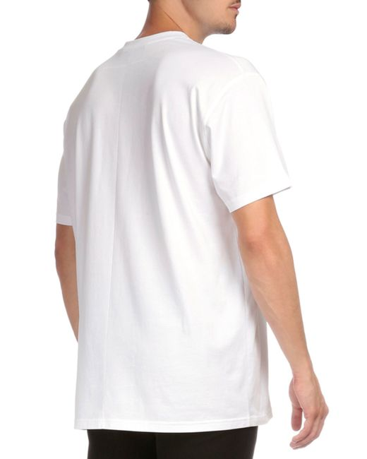givenchy cuban 19520 graphic short sleeve t shirt in white for men lyst. Black Bedroom Furniture Sets. Home Design Ideas