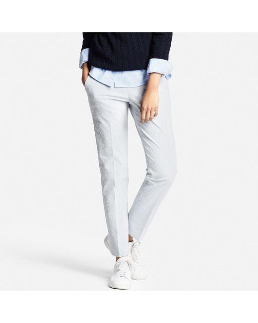 Elegant WOMEN Smart Style Ankle Length Pants  UNIQLO
