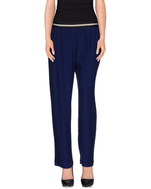 Mauro Grifoni | Blue Casual Pants | Lyst