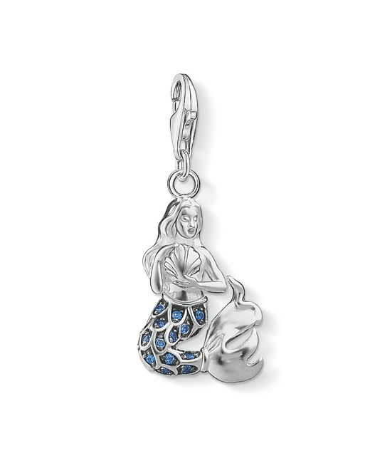 Thomas Sabo | Blue Charm Club Mermaid Pendant | Lyst