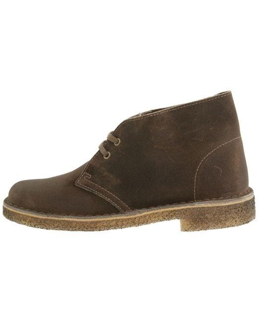 Clarks | Brown Desert Boot | Lyst
