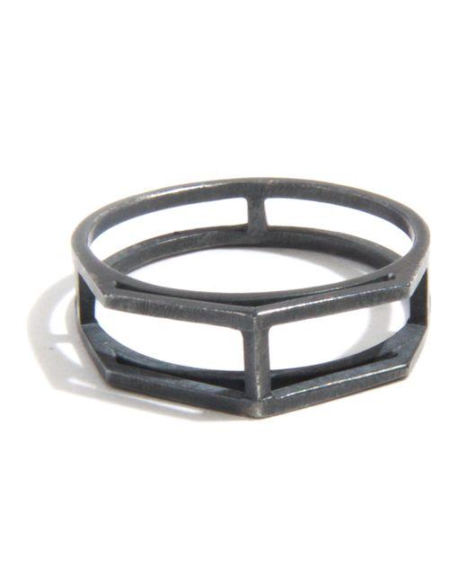 Melissa Joy Manning | Gray Open Wire Ring | Lyst