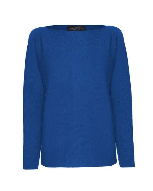 James Lakeland | Blue Boat Neck Knitwear | Lyst