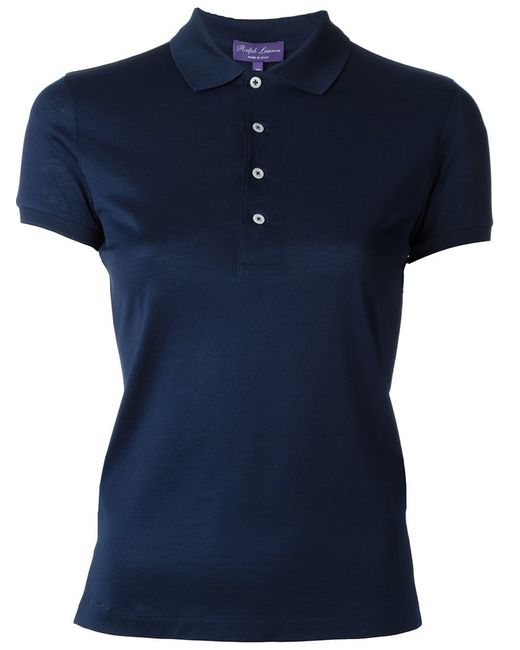 Ralph lauren black label polo shirt in blue save 36 lyst for Black ralph lauren shirt purple horse