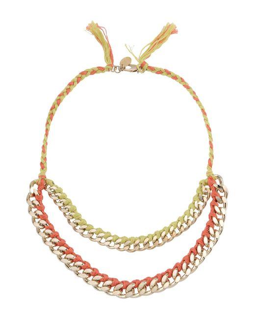 Liu Jo | Pink Necklace | Lyst