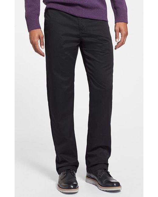 Volcom | Black Modern Straight Leg Chinos for Men | Lyst