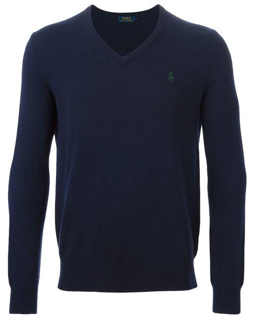 Polo Ralph Lauren Sweater Crew Neck Pima Cotton Sweater ...