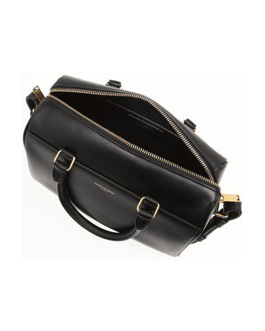 ysl clutch bag sale - saint-laurent-black-classic-duffle-mini-leather-bag-product-1-18210130-2-370282396-normal.jpeg