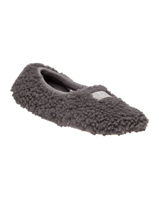 UGG | Gray Fur Slipper | Lyst