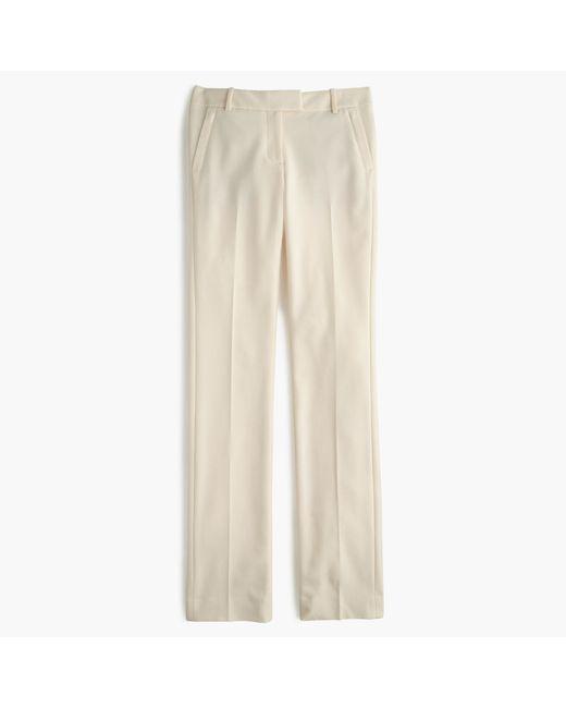 J.Crew   Natural Tall Campbell Trouser In Bi-stretch Wool   Lyst