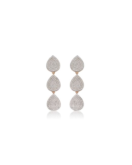 Monica Vinader | Pink Alma Cocktail Earrings | Lyst