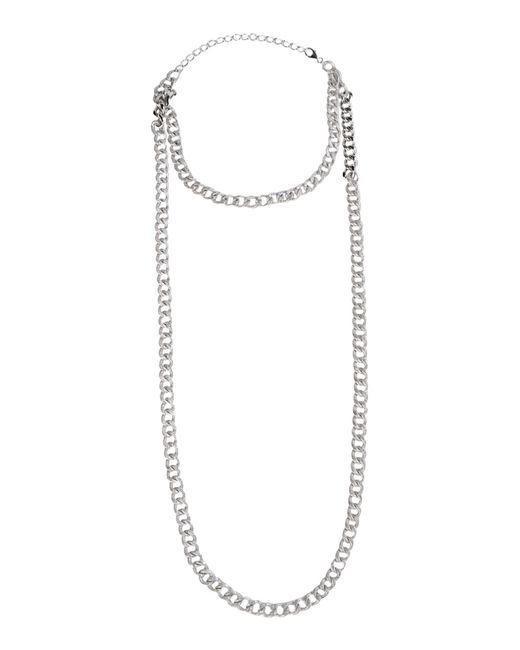 Brunello Cucinelli   Metallic Necklace   Lyst