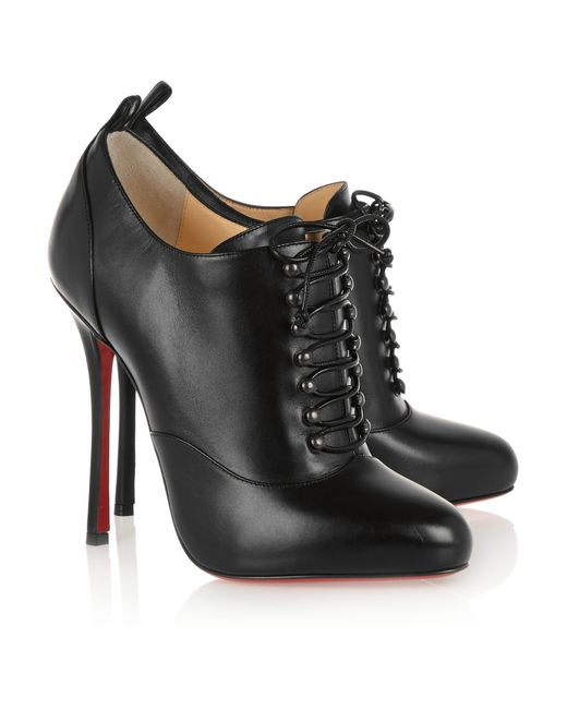 bouton shoes christian louboutin - christian louboutin jennifer 120 perforated boots, christian ...