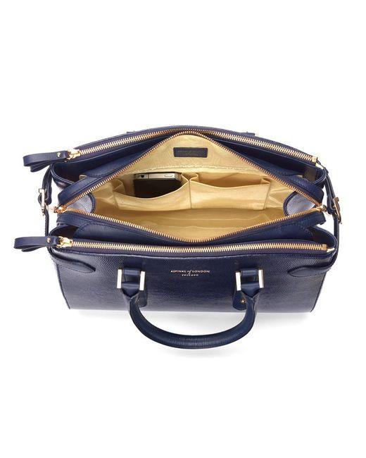 Aspinal | Blue Brook Street Bag | Lyst